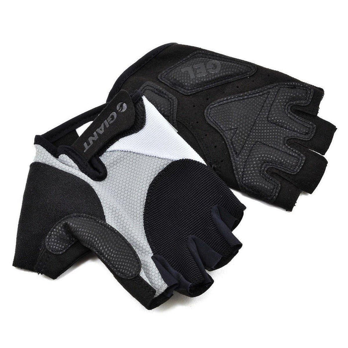 Giant Streak Gel Gloves - Black/Grey