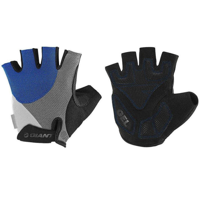 Giant Streak Gel Gloves - Black/Blue