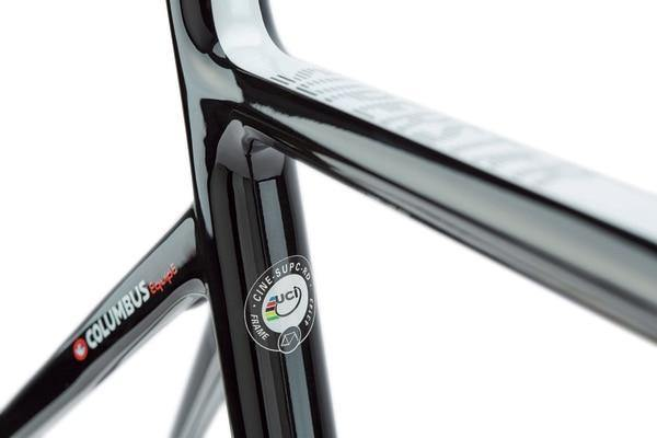 Cinelli Superstar Carbon Road Frameset - Black Diamond