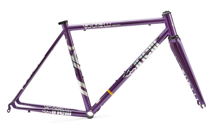 Cinelli Vigorelli Steel Road Frameset - Purple