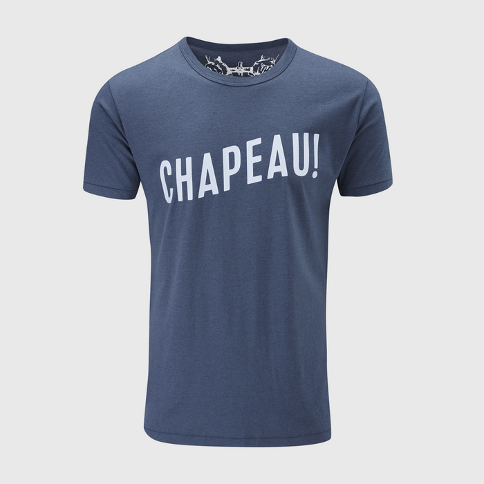 Chapeau! T-Shirt - Blue