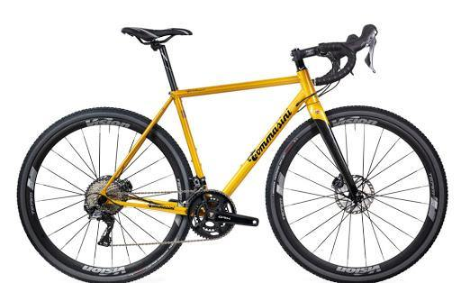 Tommasini Fire Gravel Bike with Shimano GRX 800 - Golden Yellow