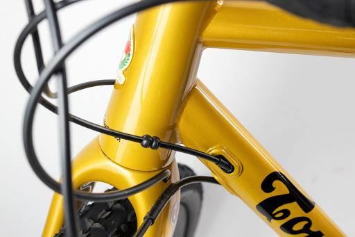 Tommasini Fire Gravel Disc Bike with Shimano GRX 800 - Golden Yellow