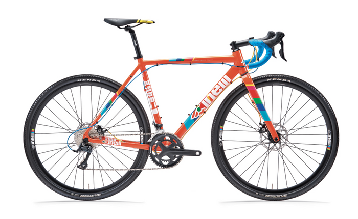 Cinelli Zydeco Lala Gravel Bike - Orange Juice Blue