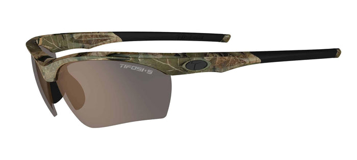 Tifosi Vero Tactical Camo Sunglasses - Brown, HC Red & Clear Lenses