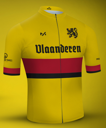 Milltag Flanders Classic Yellow Jersey - SpinWarriors
