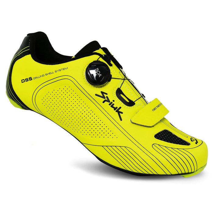 Spiuk Altube-R Road Shoes - Yellow Fluor Matte