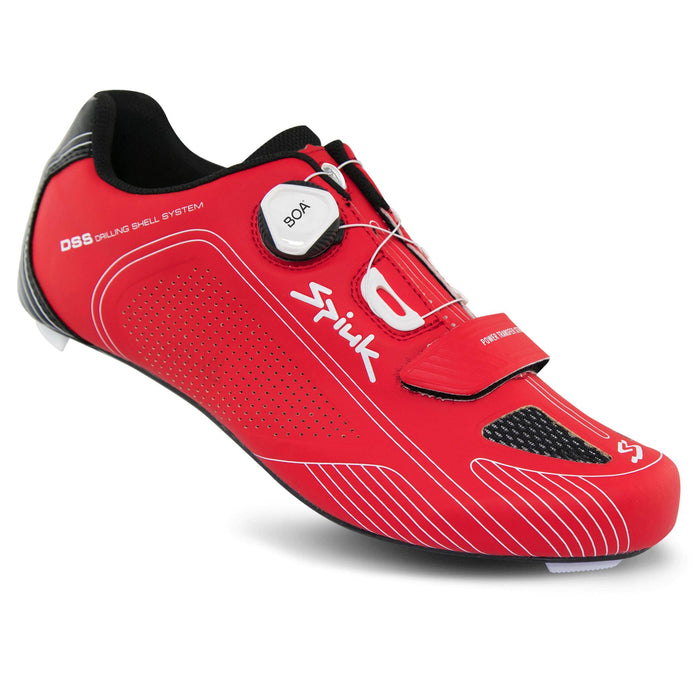 Spiuk Altube Carbon Road Shoes - Red Matte