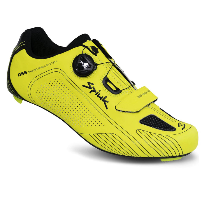 Spiuk Altube Carbon Road Shoes - Yellow Fluor Matte