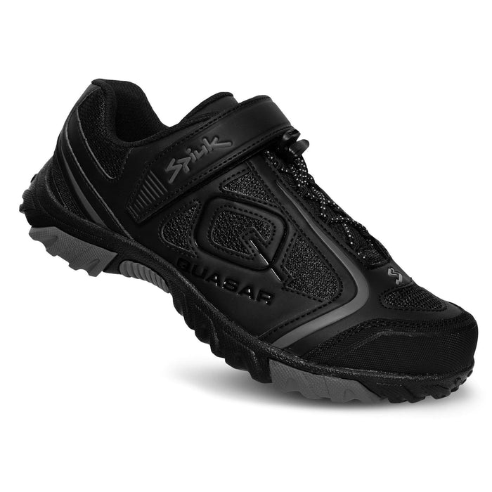 Spiuk Quasar MTB Shoes - Black Matte/Grey