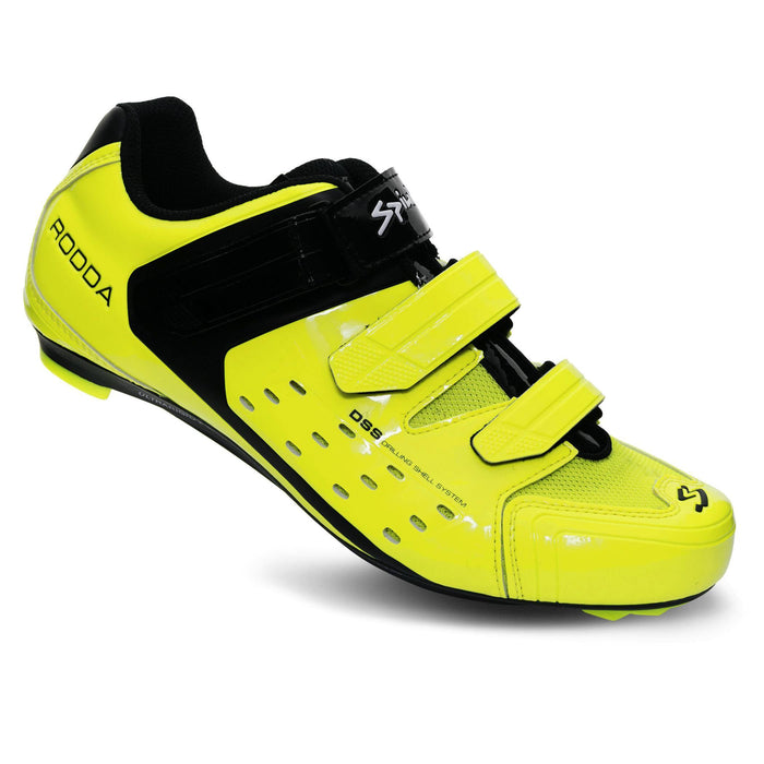 Spiuk Rodda Road Shoe - Yellow Hi Vis