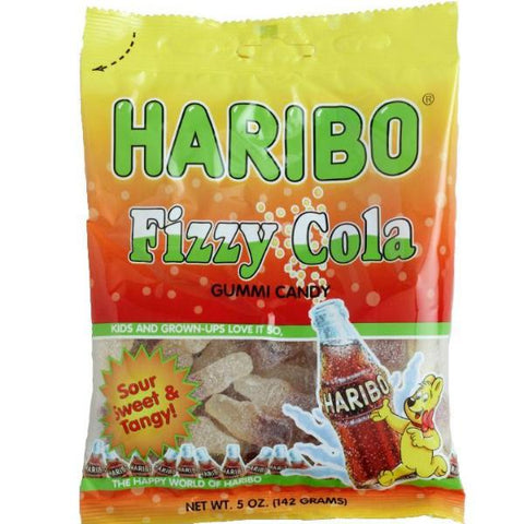 Haribo - Fizzy Cola - Plus Candy