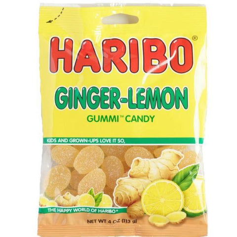 Haribo - Ginger Lemon  [113g] - USA