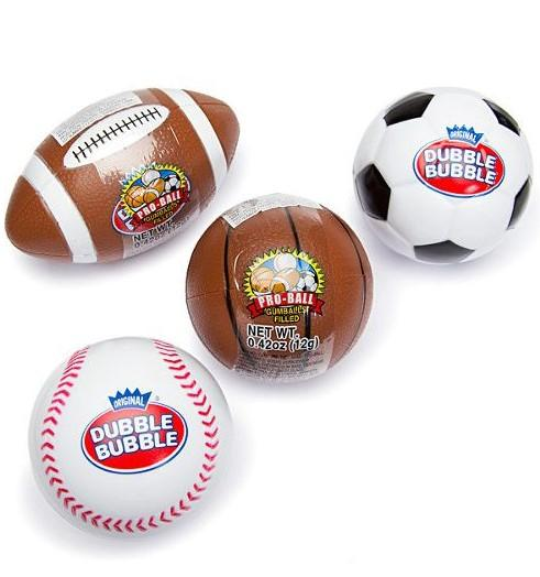 Dubble Bubble Gum Sports Pro Balls