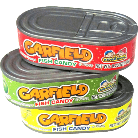 Garfield Got Fish? Candy