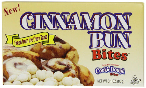 Cookie Dough Cinamon Bun Bites - Plus Candy