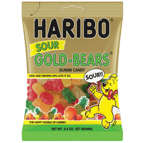 Haribo Sour Gold Bears  [127g] - USA