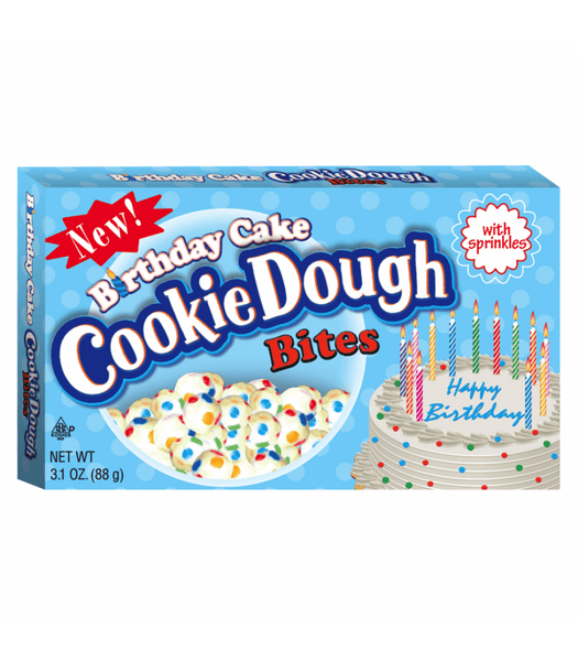 Cookie Dough Birthday Cake Bites