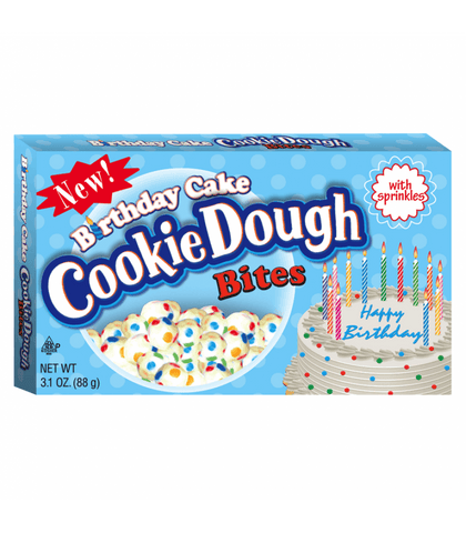 Cookie Dough Birthday Cake Bites - Plus Candy