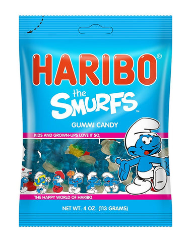 Haribo Smurfs - Plus Candy