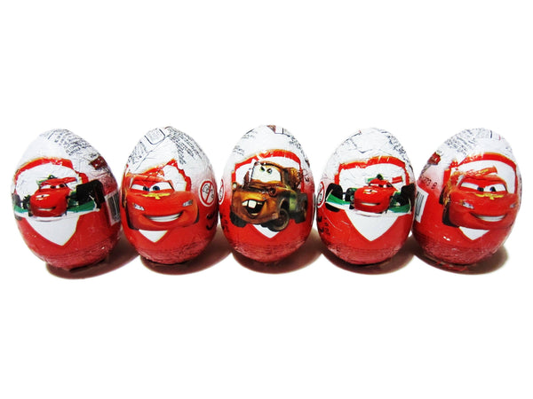 Zaini Chocolate Egg - Cars