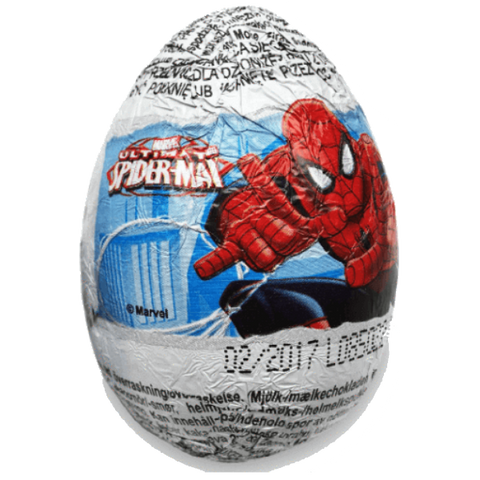 Zaini Chocolate Egg - Ultimate Spider-Man