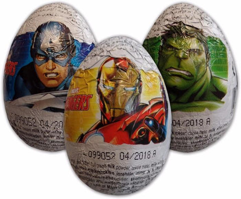 Zaini Chocolate Egg - Avengers