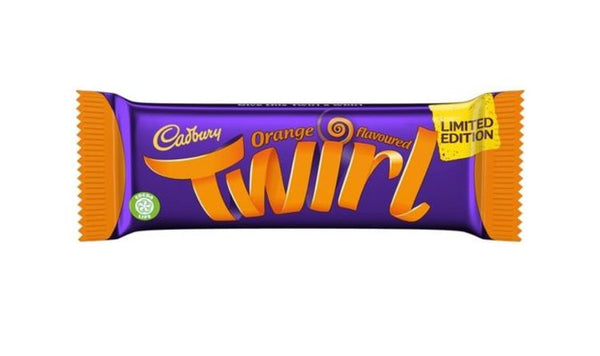 Cadbury Twirl Orange Flavoured (UK)