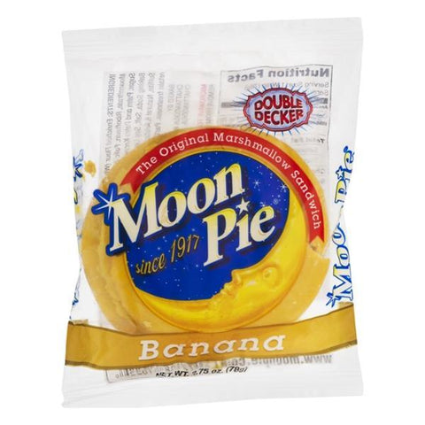 Moon Pie - Banana - Plus Candy