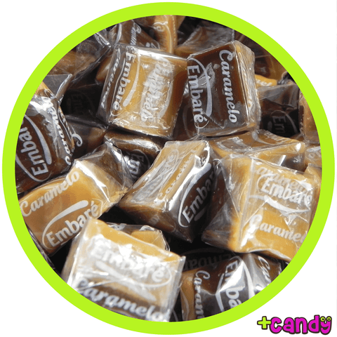 Caramel Split Vanilla Chocolate [500g] - Plus Candy