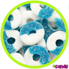 Blue Raspberry Rings [500g]