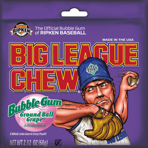 Big League Chew - Grape - Plus Candy