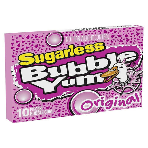 Bubble Yum Sugarless Original - Plus Candy
