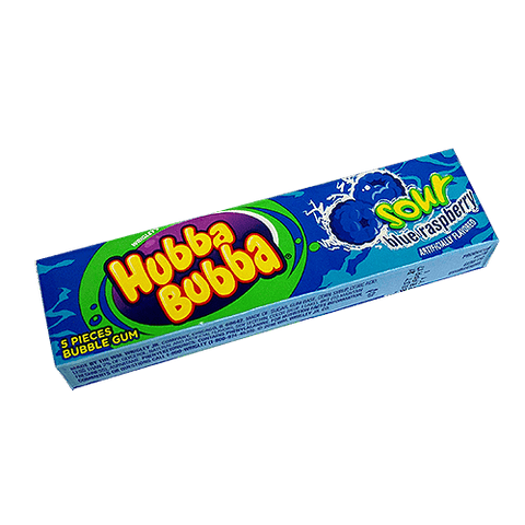 Hubba Bubba Sour - Blue Raspberry
