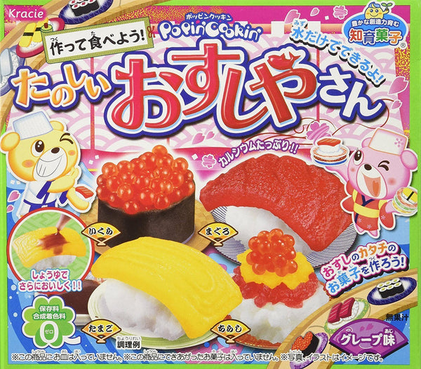 Kracie Sushi-Ya Sushi Kit Candy - Japan [41g]