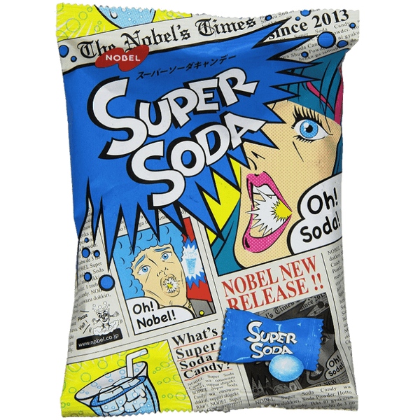 Super Soda Sour Candy (Japan)