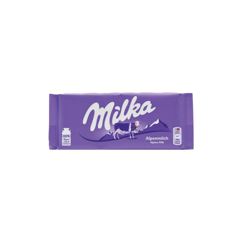 Milka Alpenmilk Chocolate Bar