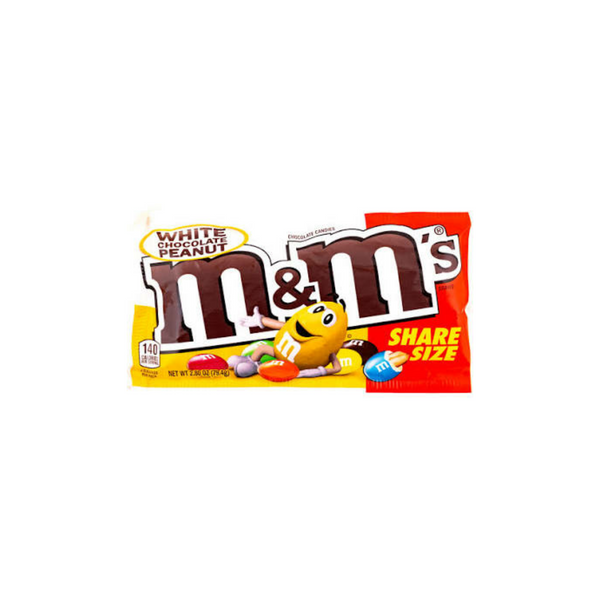 M&M's White Chocolate Peanut Share Size (US)