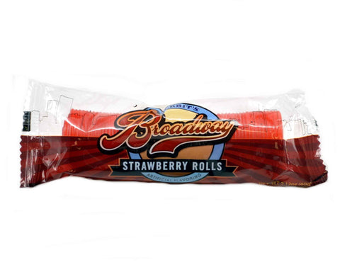 Broadway Rolls Strawberry - Plus Candy