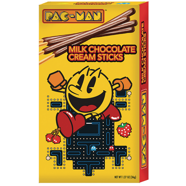Pac-Man Chocolate Sticks