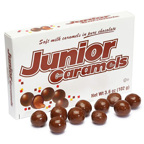 Junior Caramels Theater Box - Plus Candy