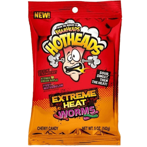 Warheads Hotheads Extreme Heat Worms