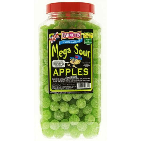 Barnetts Mega Sour - Apple (UK) [100g]