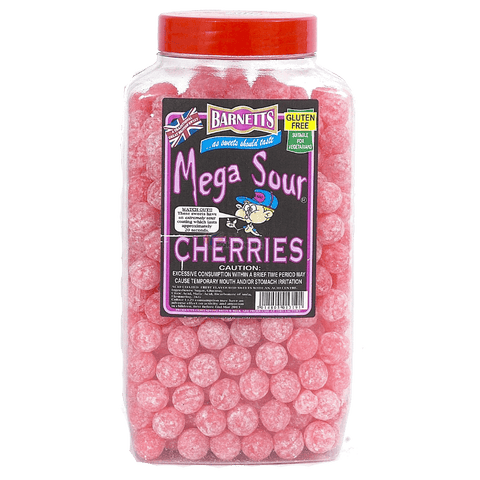 Barnetts Mega Sour - Cherries (UK) [100g]