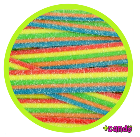 2 Feet Long Sour Rainbow Belts [500g] - USA