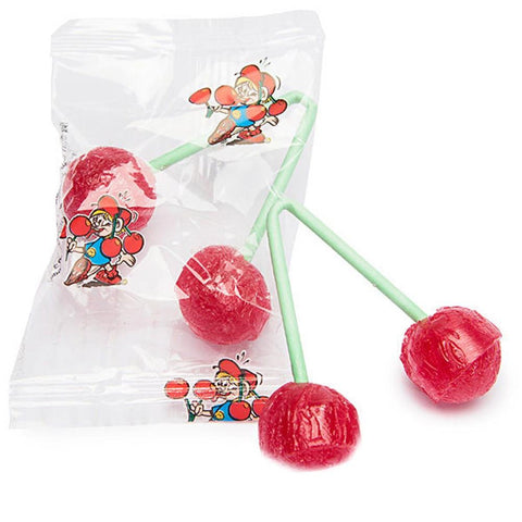 Gerrit Twin Cherry Pops (USA) - Plus Candy