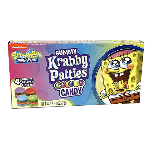 SpongeBob Gummy Krabby Patties Colors