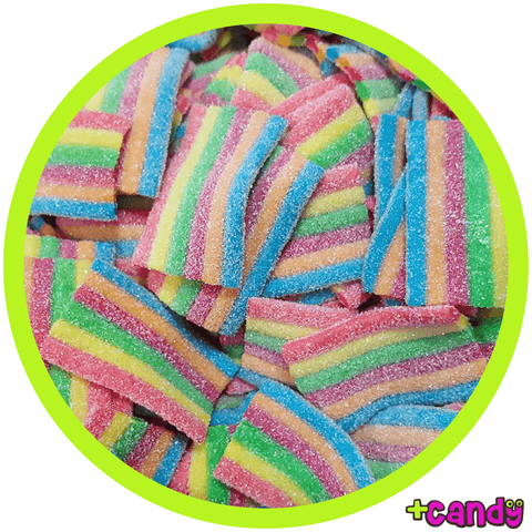 Mini Sour Rainbow Belts [500g]