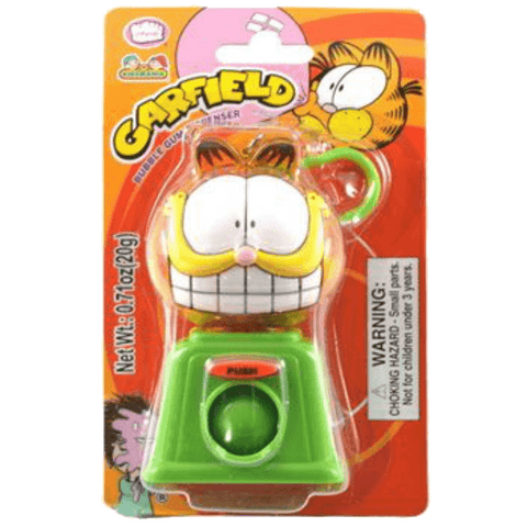 Garfield Bubble Gum Dispenser Keyring