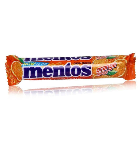 Mentos Chewy Roll - Orange
